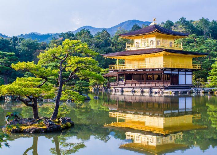 Kyoto Japan Goldener Tempel