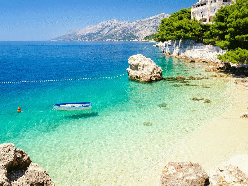 De Kroatische kust
