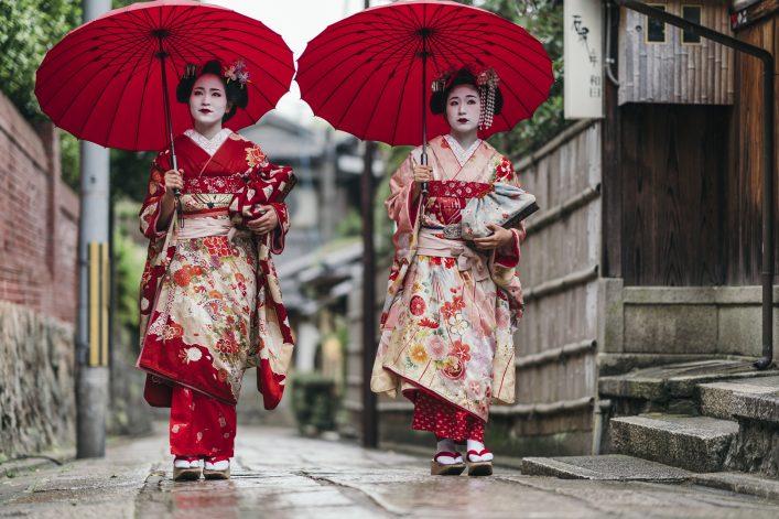 Kyoto Japan Geisha