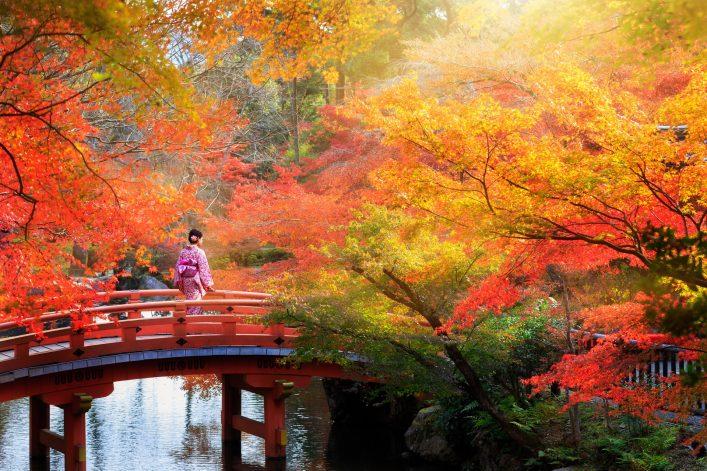 Kyoto Japan Brücke