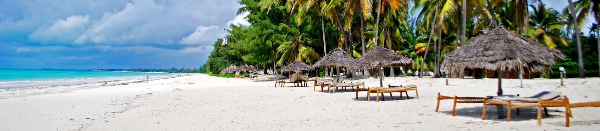 paradijselijke stranden in Tanzania