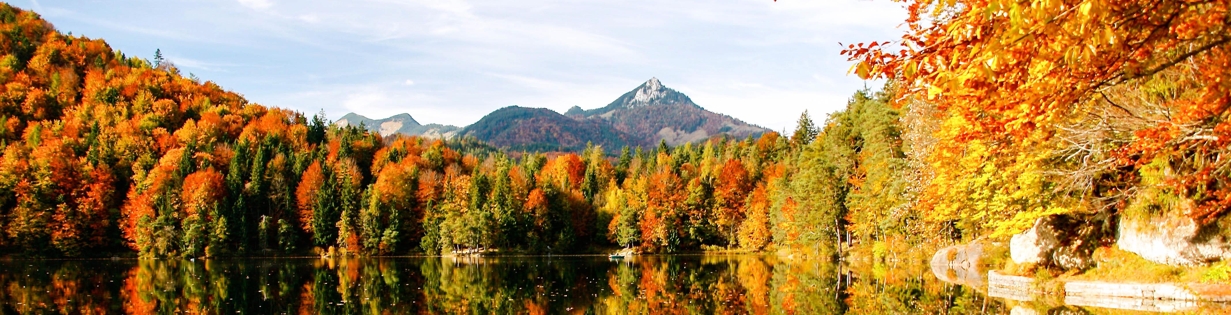 de herfstkleuren in Canada
