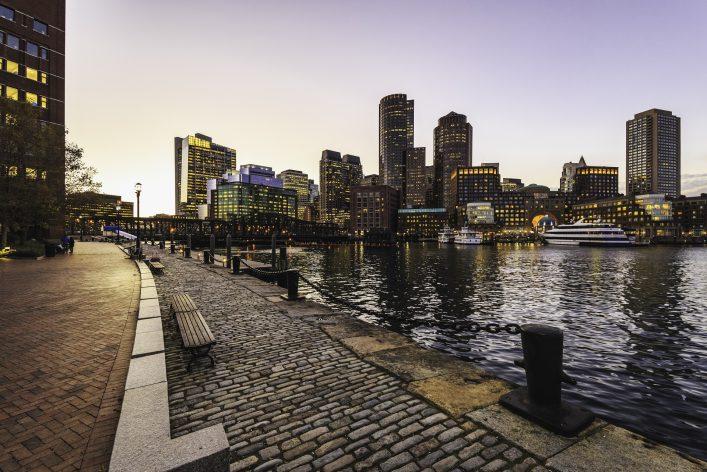 Das Leuchten der Erinnerung, Boston, Roadtrip