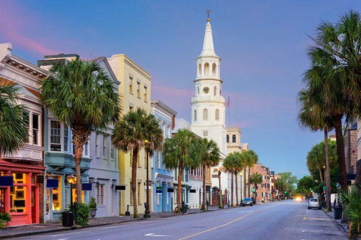 Das Leuchten der Erinnerung, Charleston, Roadtrip