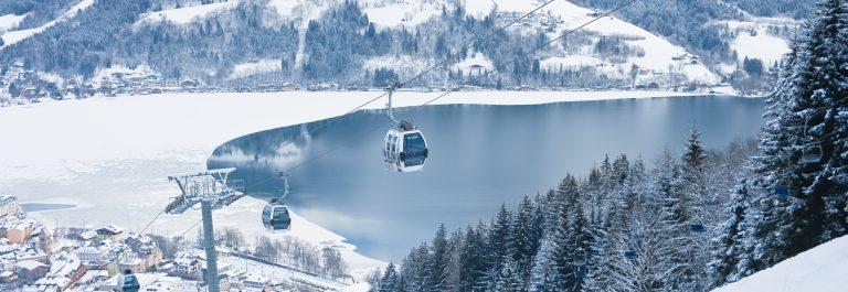 Ski resort Zell am See. Austria_shutterstock_105763745