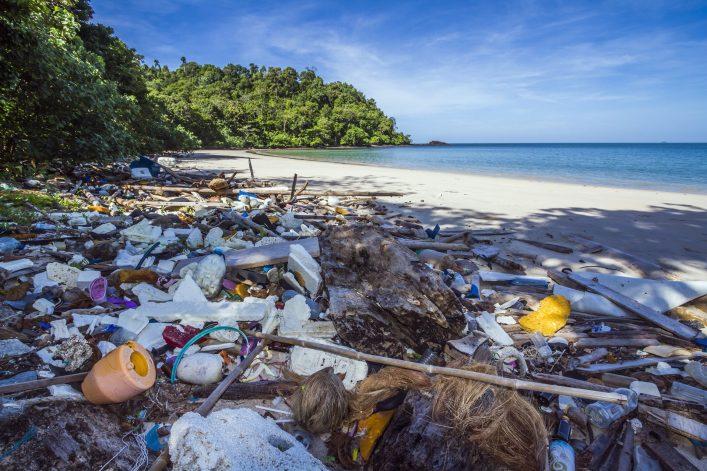 Müllinseln, Plastik, Meere