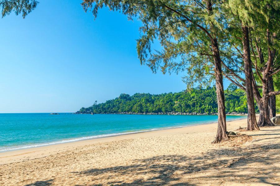 strand op Khao Lak