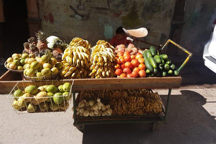 Früchte in Havanna Kuba Streetfood