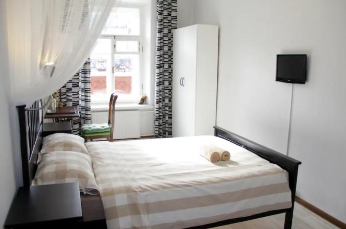Schnäppchen Zimmer von Airbnb mitten in St. Petersburg.
