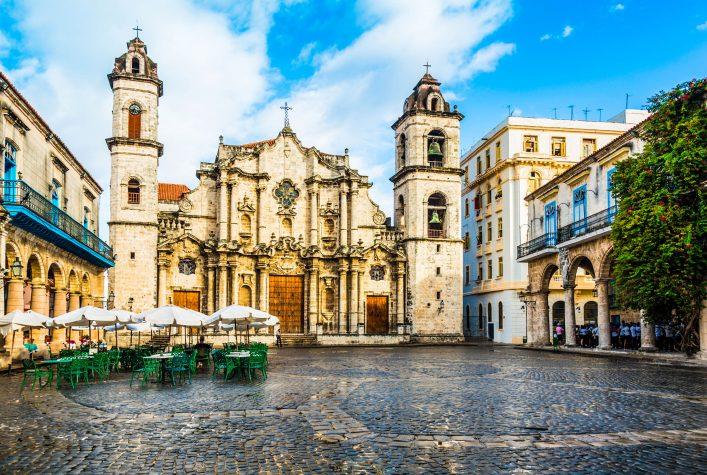 Kuba, Havannas bekannteste Kathedrale