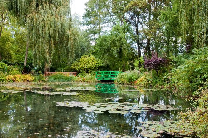 Claude Monet's garden and pond in Giverny France_shutterstock_46829728 (1)