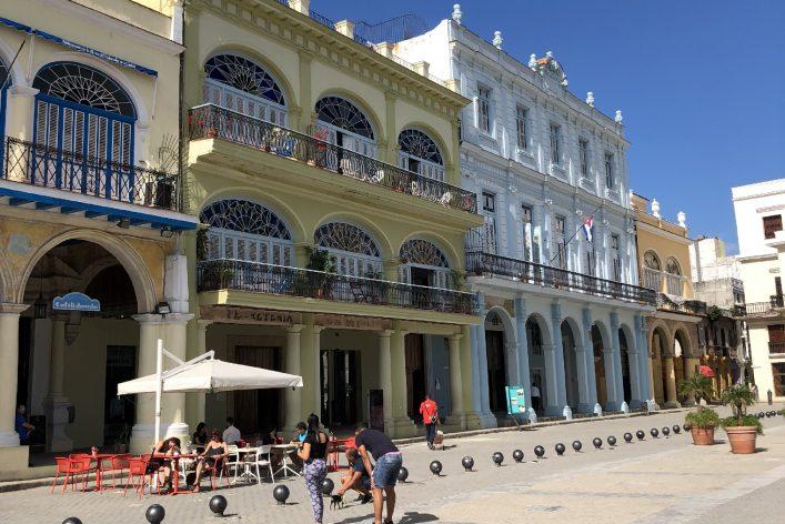 Straßenszene in Havanna, Kuba