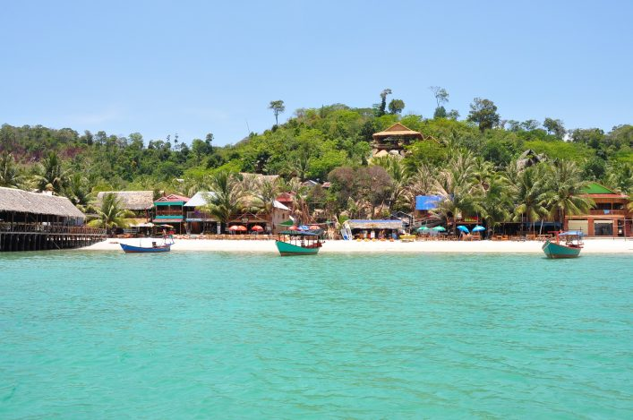 Koh Rong, island paradise in Cambodia shutterstock_760105123