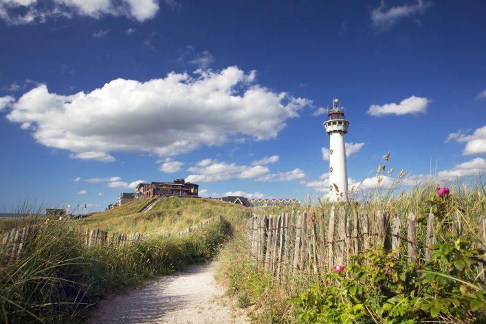 Lighthouse Egmond aan Zee, the Netherlands