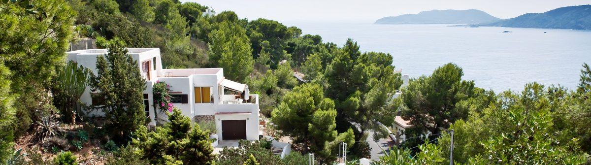 Little town at Ibiza shutterstock_541212418
