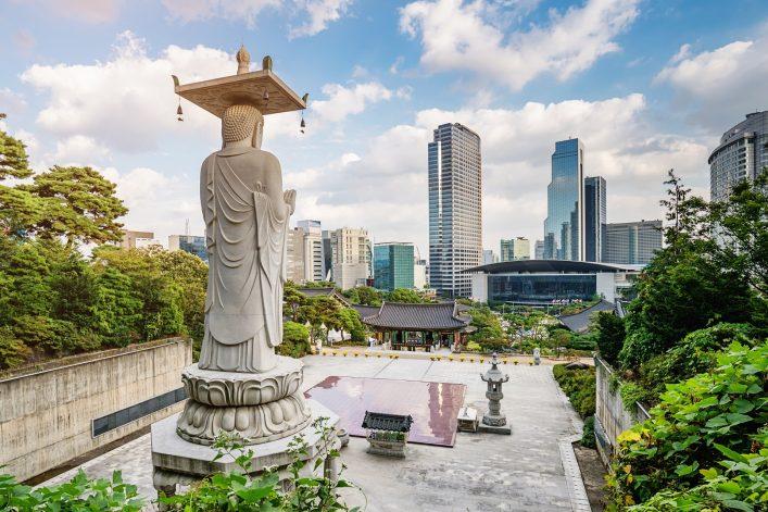 Die Hauptstadt von Südkorea, Seoul