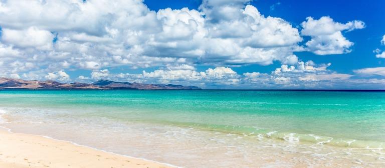 Beach, Fuerteventura, Canary Island, Spain