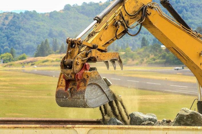 Absurde Dinge an Flughäfen - Baustelle