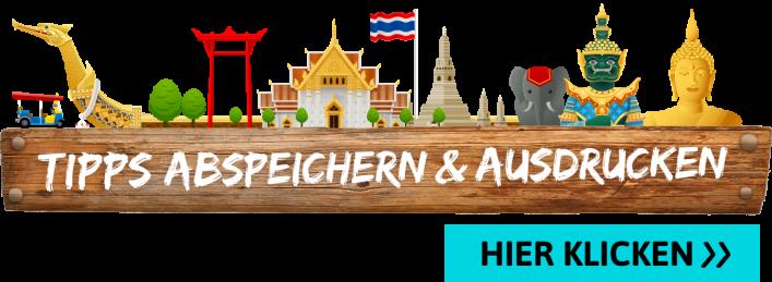 Packliste Thailand, Ausdrucken, Abhaken, Tipps