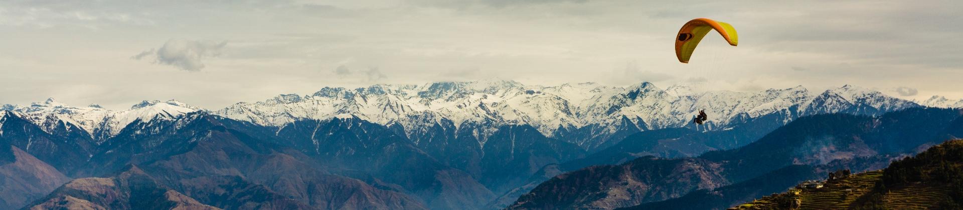 Bergketen in India
