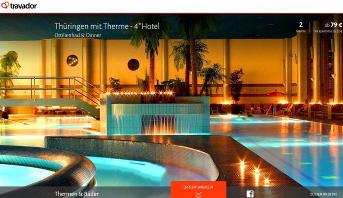 erholung in th ringen 4 hotel eintritt ins ottilienbad f r nur 79. Black Bedroom Furniture Sets. Home Design Ideas