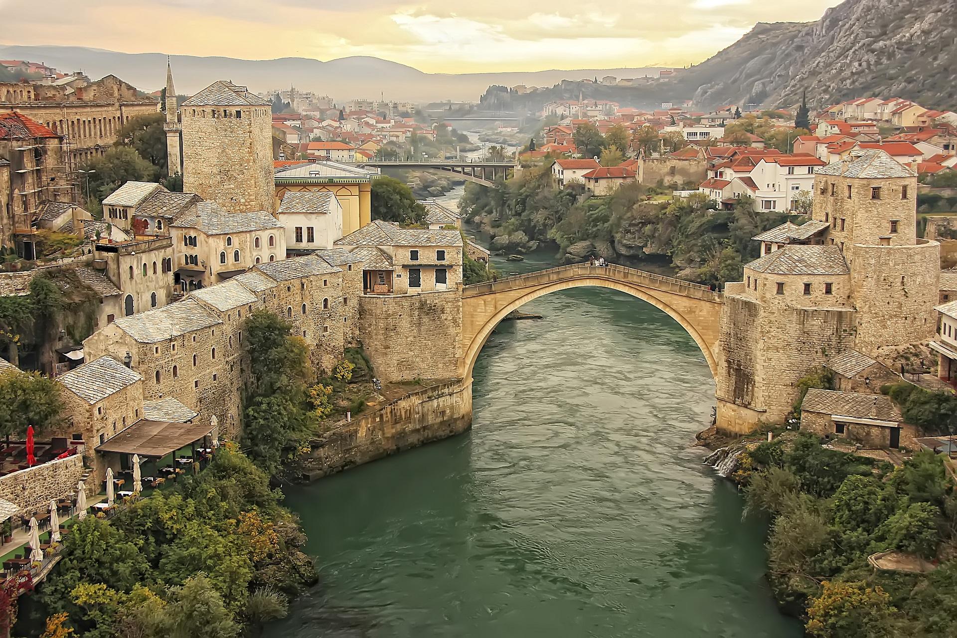 Die Brücke Von Mostar