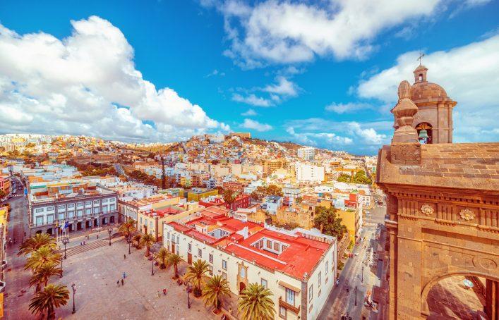 Die Altstadt von Las Palmas auf Gran Canaria