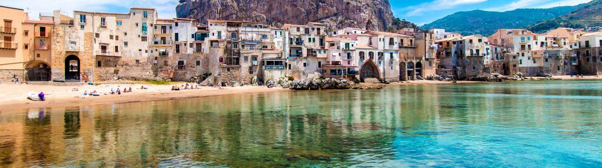 Cefalu auf Sizilien