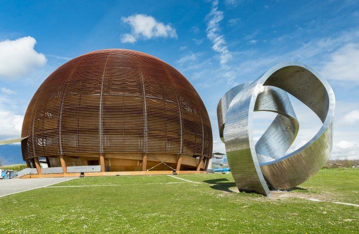 CERN Globus in Genf