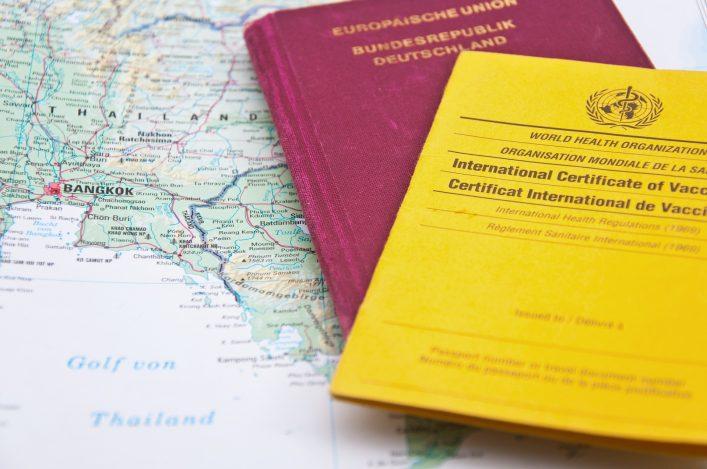 Packliste Thailand, Impfungen, Medikamente