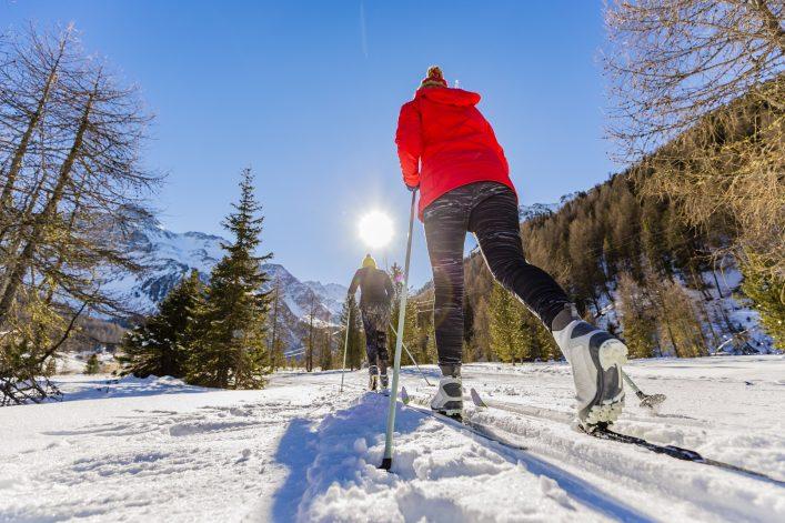 Skilanglauf ist in Tirol sehr beliebt
