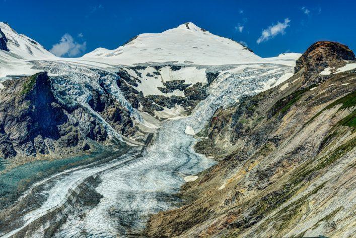 Alps, Grossglockner glacier
