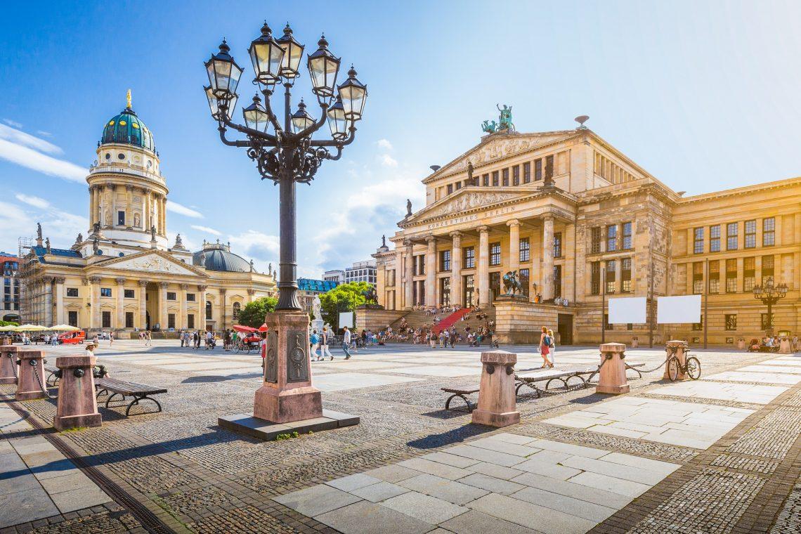 Stadtspaziergang durch Berlin