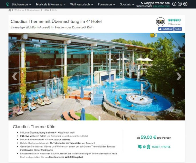Claudius Therme Screenshot