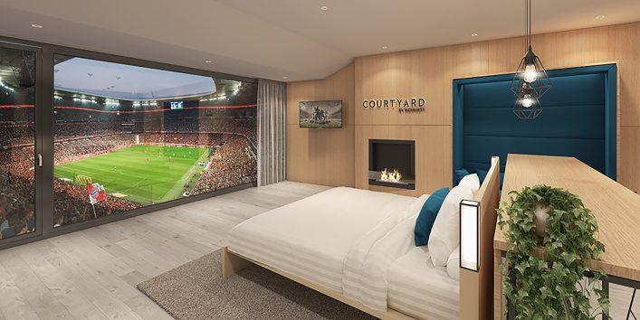 FC Bayern München Suite in der Allianz Arena