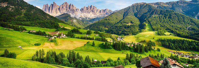 Dolomites alps, Mountain – Val di Funes