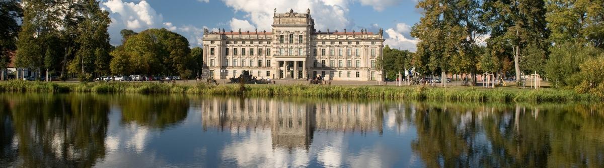 Das Schloss Ludwigslust in Mecklenburg-Vorpommern