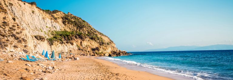 Koroni Beach On Kefalonia Island