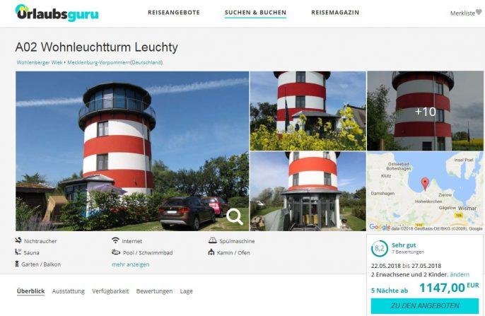 Leuchtturm Screenshot