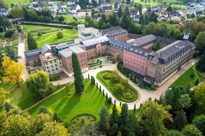 Im Kloster Arenberg könnt ihr euch eine entspannte Auszeit gönnen