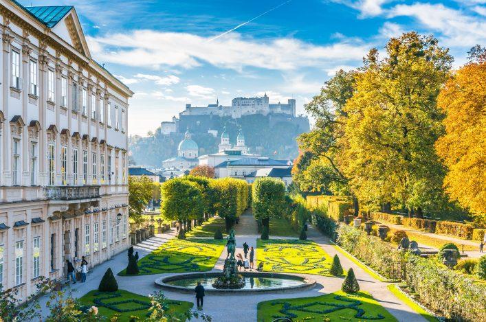 Mirabell Gardens Hohensalzburg_Salzburg_Austria_shutterstock_309226133