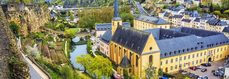 Panoramic view on Luxembourg City_502568368