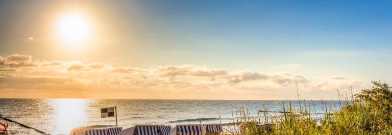 Strand am Morgen Ostsee