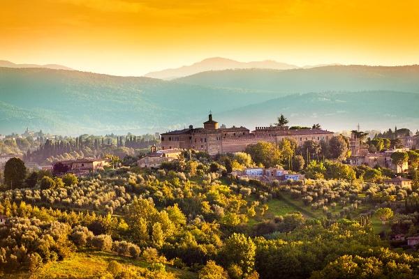 De Toscaanse heuvels