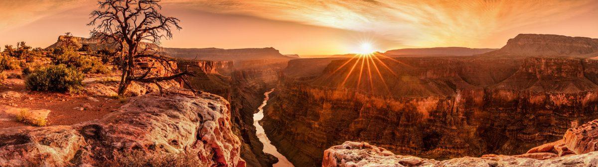 Arizona Panorama beim Sonnenuntergang