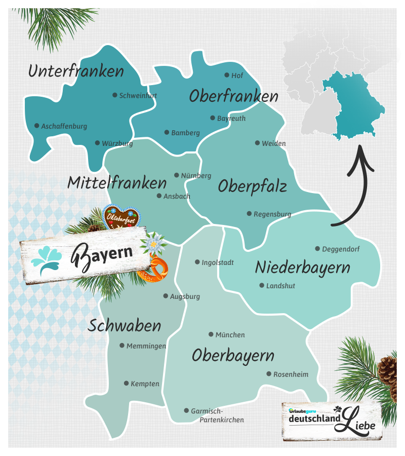 Bayerische Bezirke
