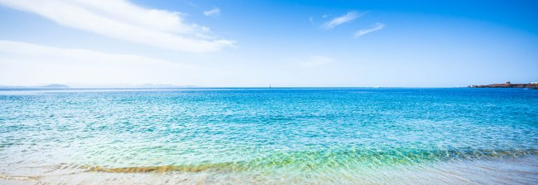 Beautiful Tropical Beach and Ocean in Canary Islands