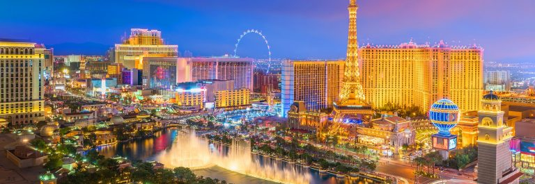 Las Vegas im dunkeln