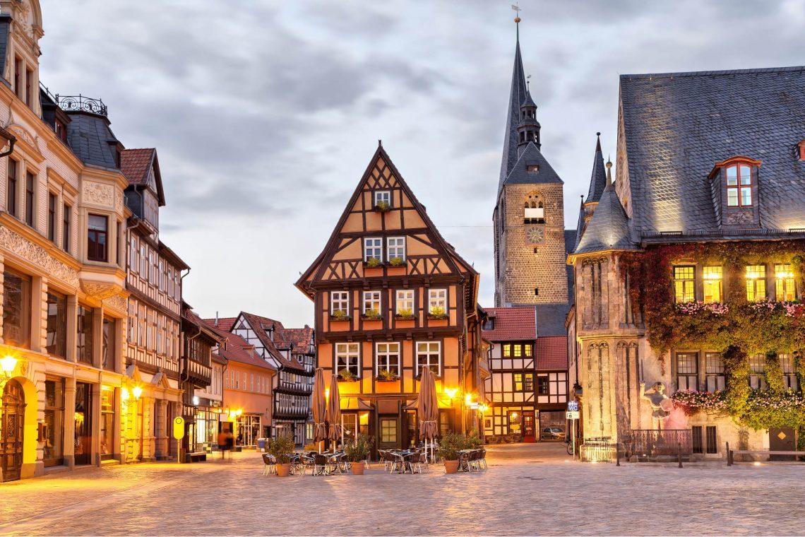 Marktplatz Quedlinburg Romantische Straße
