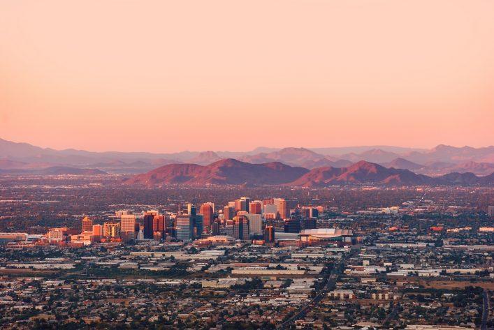 Phoenix und die Wüste